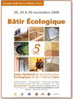 Salon Bâtir Écologique : le rendez-vous de la Construction Écologique  - Batiweb