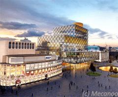 Nouvelle bibliothèque à Birmingham - Batiweb
