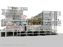 L'entrepôt Macdonald de la Porte d'Aubervilliers va se transformer - Batiweb