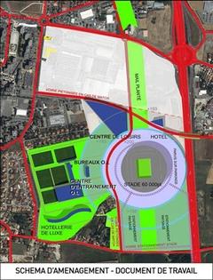 Nouveau contretemps pour le Grand Stade de Lyon   - Batiweb