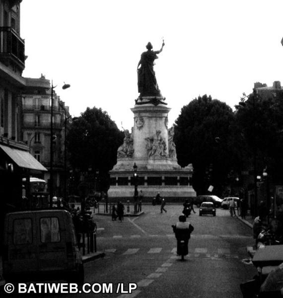 La place de la République (Paris) s'ouvre aux piétons
