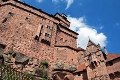 La restauration du château du Haut-Kœnigsbourg a commencé - Batiweb