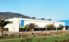 """Une """"boîte bleue"""" pour l'extension du Palais des Congrès Europa - Batiweb"""