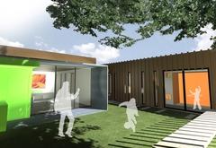 L'audace architecturale récompensée sur le salon Sabine - Batiweb