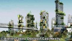 Roland Castro imagine des tours d'habitation avec jardins superposés Batiweb