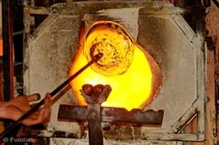 Pour fondre du verre, Saint-Gobain a testé la biomasse - Batiweb
