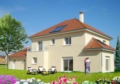 La première maison BBC de Bourgogne, en Blocs Béton - Batiweb
