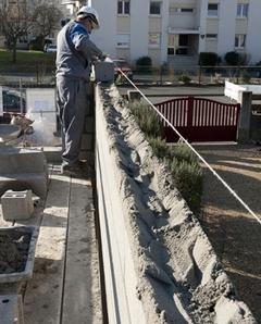 Maison BBC Jambert-Lafarge - Episode 2 : l'élévation des murs (diaporama) Batiweb