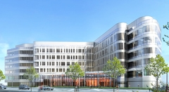 La première pierre du futur siège social d'Eiffage Construction posée - Batiweb