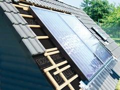 Ecran de sous- toiture pour l'isolation de l'habitat de Doerken