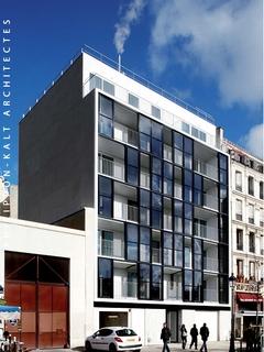 17 logements sociaux à Paris dotés d'une façade performante et atypique - Batiweb