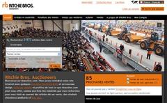 Lancement d'un site Internet de vente aux enchères de matériel