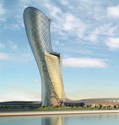 Un skyscraper d'Abou Dhabi surpasse la tour de Pise au Guinness Book