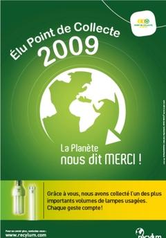 Un membre du réseau Socoda élu « Point de Collecte 2009 » - Batiweb