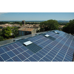 1 214 m² de panneaux photovoltaïques sur les toits à Alzonne - Batiweb