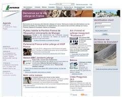 Lafarge France lance son nouveau site web tout public - Batiweb