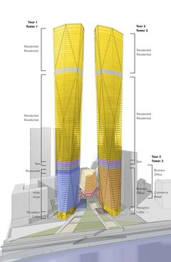 Deux nouvelles tours s'établiront à La Défense