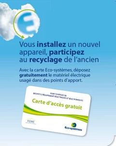 Eco-systèmes déploie un réseau national des déchets électriques du bâtiment - Batiweb