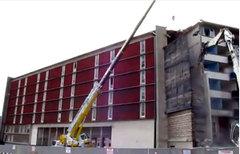 Logement étudiant : la destruction du bâtiment C à Antony a commencé - Batiweb