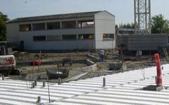 (Diaporama) Des poutrelles en béton précontraint pour un plancher de vide sanitaire