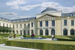 (Diaporama) L'hôpital Richaud à Versailles reconverti en logements - Batiweb