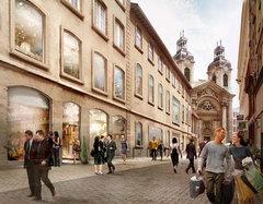 (Diaporama) Lyon :  l'Hôtel Dieu a trouvé son architecte - Batiweb