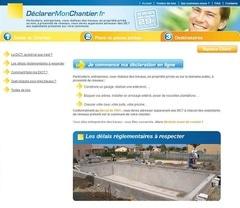 Une plateforme internet pour déclarer les chantiers occasionnels