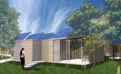 Prix architecture : un étudiant récompensé pour une structure en échafaudage Batiweb