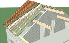 La Maison Bois Massif va plus loin dans l'isolation de la toiture