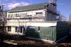 Une maison performante livrée hors d'eau en trois jours - Batiweb