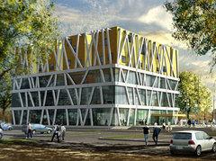 800 m3 de béton architectonique pour le pôle culturel de Vienne Batiweb