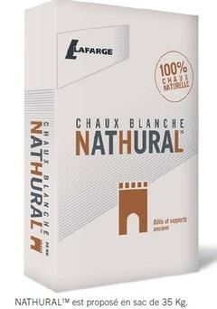 Lafarge lance une nouvelle chaux blanche 100 % naturelle - Batiweb
