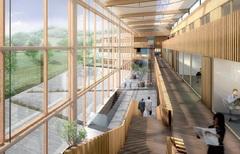 Bâtiment à énergie positive « tous usages » dans le Cantal