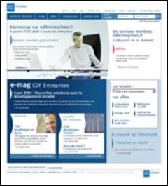 www.edfentreprises.fr - Un lien pratique, direct et convivial pour les entreprises - Batiweb