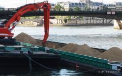 Transport fluvial de matériaux : augmenter le trafic de 25% d'ici 2015 - Batiweb