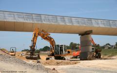 Travaux Publics : les grands projets évitent la chute - Batiweb