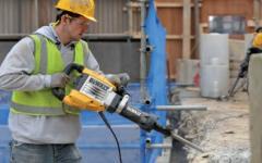 Vibrations minimum pour les travaux lourds de démolition