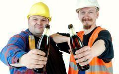 Le secteur de la construction : champion de la consommation d'alcool et de cannabis
