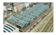 Armorgreen installera la Centrale Solaire Photovoltaïque de la Halle Pajol