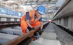 Une voie ferrée silencieuse installée à Londres - Batiweb