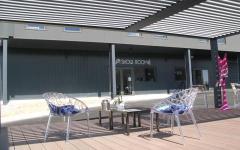 Un showroom dédié aux pergolas bioclimatiques