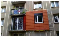 Rénovation de façades avec une ITE complétée de bardeaux - Batiweb