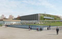 Nantes : Hall XXL pour le parc d'exposition la Beaujoire - Batiweb