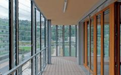 La lame bois composite en logement collectif