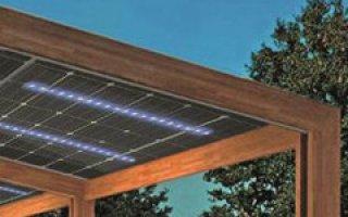 Des panneaux photovoltaïques auto-éclairés aux usages multiples