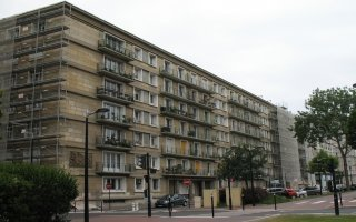 La restauration de façades d'immeubles dans un site classé