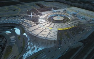 Le projet du Futur Terminal 1 de l'aéroport Lyon-Saint Exupéry est lancé - Batiweb