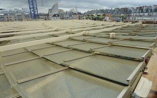 (Diaporama) La Canopée des Halles, monstre d'acier au coeur de Paris  - Batiweb