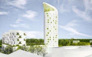 La Tour Elithis, moteur d'un îlot à énergie positive de Dijon