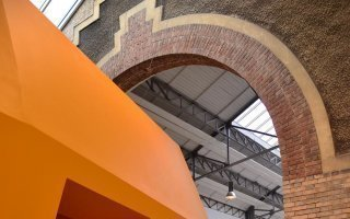Espaces évolutifs sous les halles rénovées de l'Ensam - Batiweb